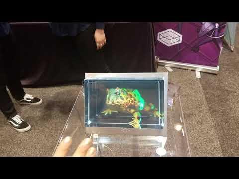 AWE Expo 2018 The Looking Glass Demo