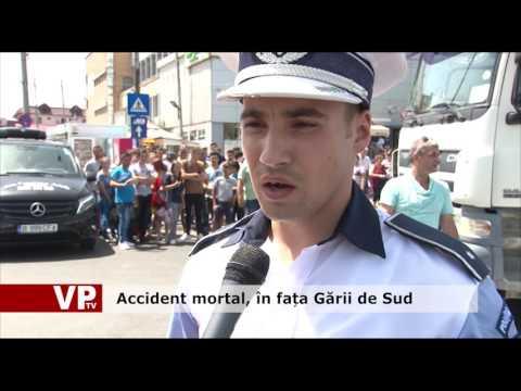 Accident mortal, în fața Gării de Sud