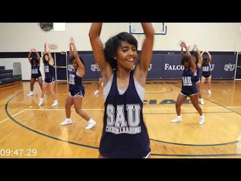 NEW Cheerleading Versus Battle: WSSU Powerhouse VS SAU Bluechips #cheer #cheerleading #cheerleaders
