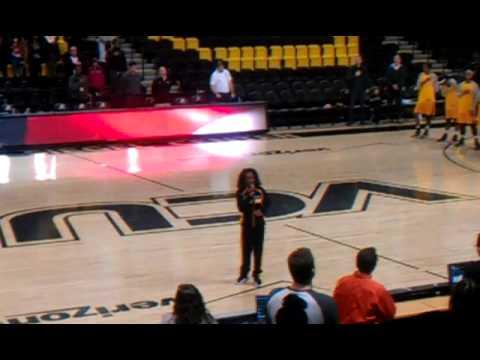Jada Dupree ntnl Anthem @VCU (видео)
