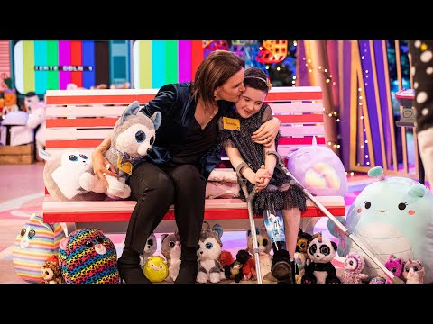 Saoirse Ruane fulfils her three wishes | The Late Late Toy Show | RTÉ One