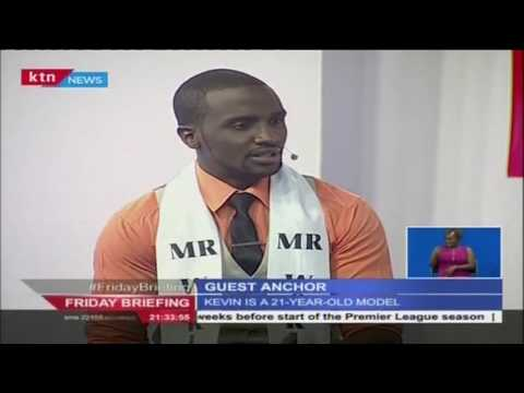 Friday Briefing : Guest anchor  Model Kevin Odour