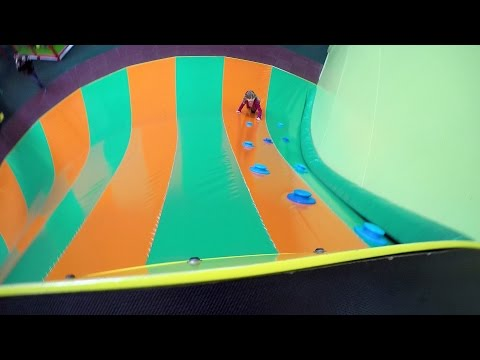 VLOG • Fun Indoor @ Chimpie Champ Amsterdam Playground - Studio Bubble Tea (видео)
