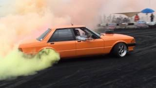 The World's Most Colourful Burnout! - YouTube