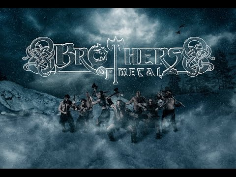 Brothers of Metal - Prophecy of Ragnarök (Lyric Video)