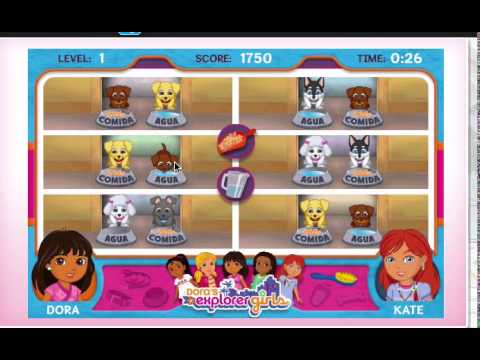 Playing Dora And Explorer Girls: Dora's Puppy Adoption Day
