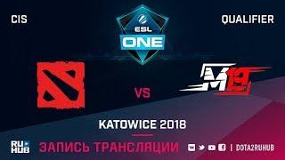 Mega-Lada vs M19, ESL One Katowice CIS, game 1 [Jam, CrystalMay]