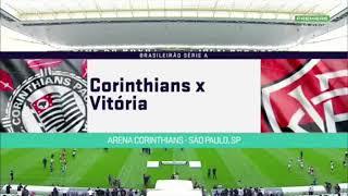 Corinthians 0 X 1 Vitória.