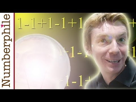 One minus one plus one minus one - Numberphile (видео)
