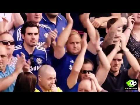 Mourinho And Chelsea Fans They Applaud To Steven Gerrard   Chelsea Vs Liverpool 1 1 2015