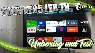 Sony XE85 LED-TV Test und Sony HT-XT2 TV Soundbar Test  Sony KD 55XE8599 Test  Sony Soundbar Test ▻ ▻ Kostenlos...