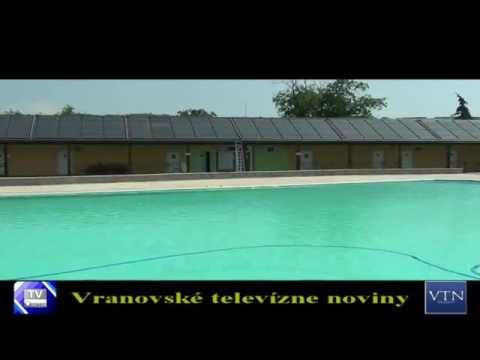 Vranov: letné kúpalisko sa otvára už túto sobotu /25.6.2016/