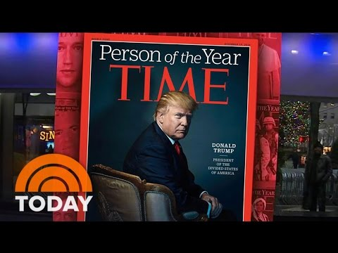 President-Elect Donald Trump Named TIME Person Of The Year 2016 | TODAY