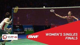 Download Video WS | TAI Tzu Ying (TPE) [1] vs Akane YAMAGUCHI (JPN) [2] | BWF 2018 MP3 3GP MP4
