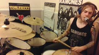 The Ramones Touring drums & vocals cover