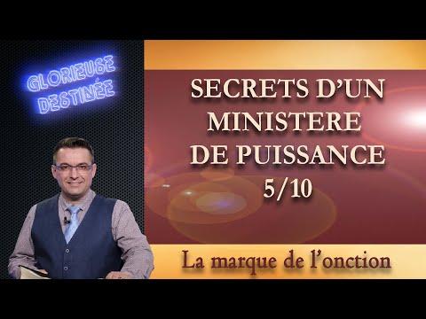 Franck ALEXANDRE - Glorieuse Destinée : Secrets d'un ministère de puissance - La marque de l'onction