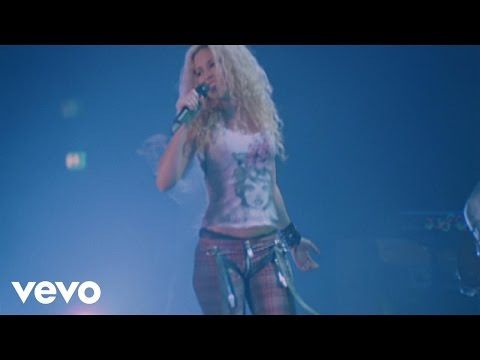 Shakira - Underneath Your Clothes (from Live & Off the Record)