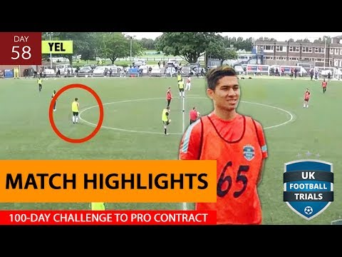 Was I Good Enough? (UK Football Trials Match Analysis) | Day 58