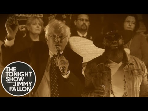 Bernie Sanders Jimmy Fallon Raps Old Town Hall  Old Town Road