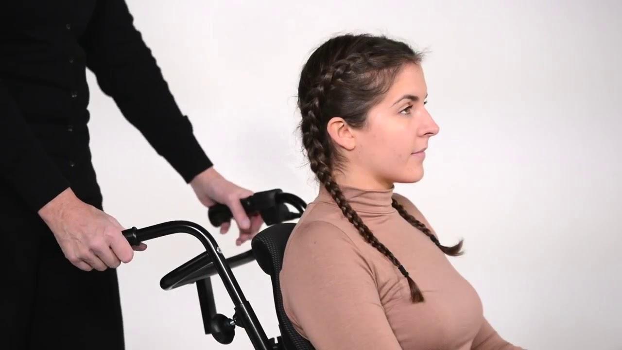 Comfort-pyörätuolin käyttöönotto