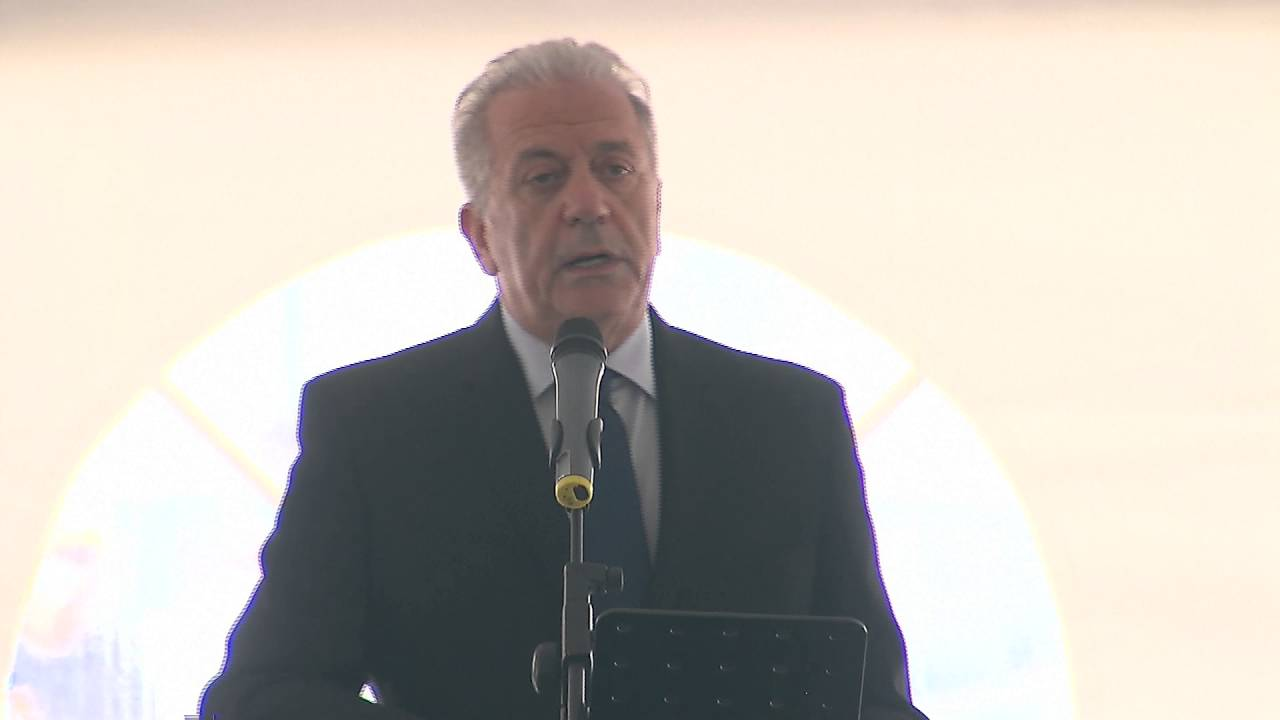 Ο Δ. Αβραμόπουλος στην έναρξη λειτουργίας της Ευρωπαϊκής Συνοριοφυλακής – Ακτοφυλακής
