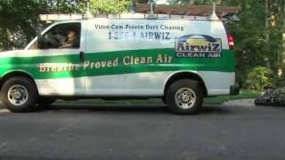 AirWiz Air Duct Cleaning (How It's Done)