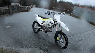 10. First Ride on my new FX350