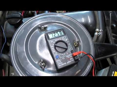 Напряжение генератора для зарядки аккумулятора фотография