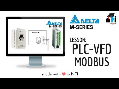 PLC & VFD MODBUS Communication Mode
