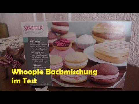 Whoopie-Backmischung im Test   Whoopie Pies mit Frischkäsefrosting