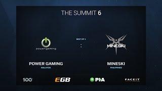 Power Gaming vs Mineski, Game 1, The Summit 6 Qualifiers, SEA