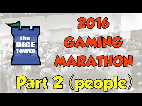 Dice Tower 2016 Live Gaming Marathon