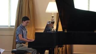 Colin plays Bella's Lullaby from Twilight
