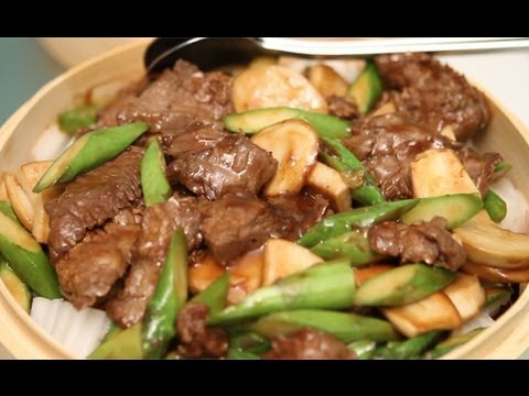 How to Cook Stir Fry Beef Basket and Vegetables w/ Chow Fun