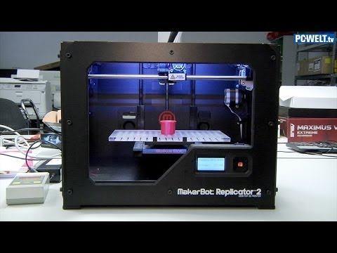 3D-Drucker Makerbot Replicator 2 im PC-WELT-Test
