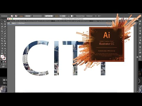 How To Make A Clipping Mask In Illustrator CS6/CC