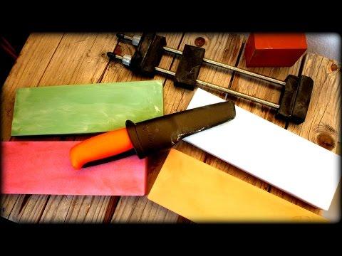 Japanische Wassersteine im Test - Eden (Knives & Tools)