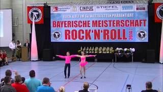 Antonia Schmid & Julian Minks - Bayerische Meisterschaft 2014