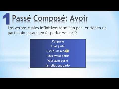 compose - el Passé Composé en Francés http://www.frenchspanishonline.com/magazine/?p=873 Suscripción aquí: http://goo.gl/BTfd0v, tiempos en Francés. Tiempo del pasado ...
