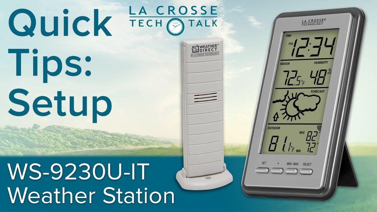 WS-9230U-IT Quick Tips: Setup