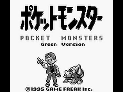 pokemon version vert game boy color