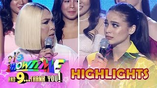 Video It's Showtime Magpasikat 2018: Anne and Vice look back on their first big fight MP3, 3GP, MP4, WEBM, AVI, FLV April 2019