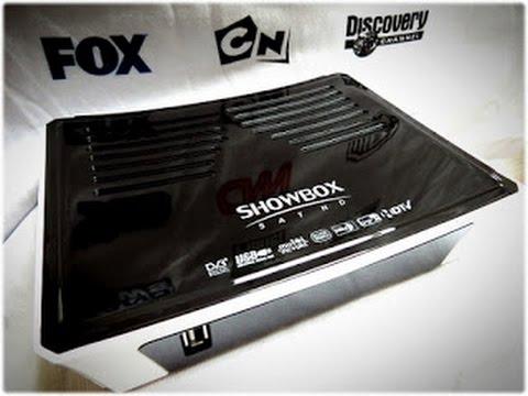 Nova Atualização showbox sat HD plus 21.10.2014 - (On) Novamente