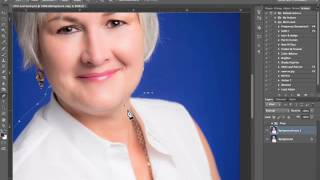The Easiest Way to Remove A Double Chin in Photoshop
