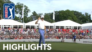 Justin Thomas's highlights | Round 4 | BMW Championship 2019 by PGA TOUR