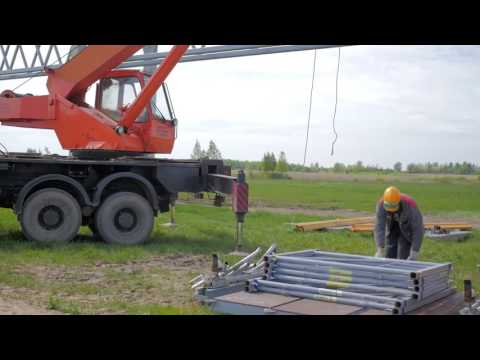 EcoTechnoPark – Footage from Construction Site