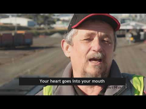 Train drivers in New Zealand share their stories of hitting people on the tracks.