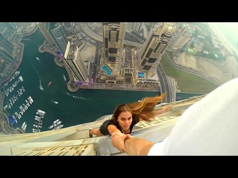 Most Crazy Girl Ever Viki Odintcova  & Oleg Cricket. Dubai #6