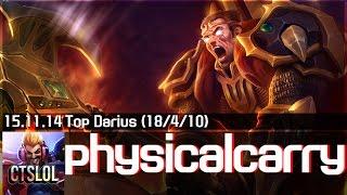 Darius trong tay cao thủ physicalcarry và những pha quẩy nát team địch