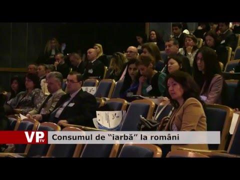 """Consumul de """"iarbă"""" la români"""